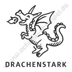 Trodat Edy Motiv Drache Drachenstark