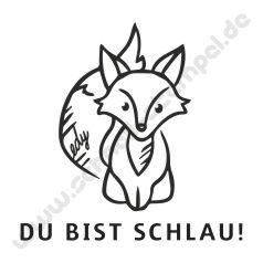 Trodat Edy Motiv Fuchs Du Bist Schlau