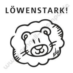 Trodat Edy Motiv Löwe Löwenstark