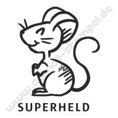 Trodat Edy Motiv Maus Superheld
