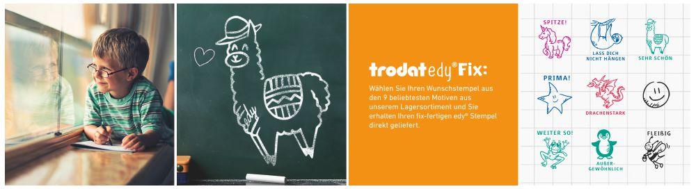 Trodat Edy Fix Motivierungsstempel für Lehrer, Erzieher und Pädagogen