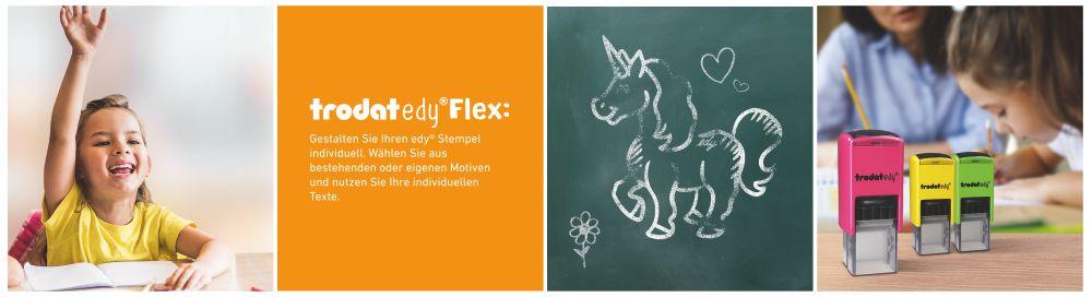 Trodat Edy Flex Motivierungsstempel für Lehrer, Erzieher und Pädagogen