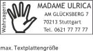 Trodat Printy 9411 mit Textplatte und individuell gestalten Abdruckgrösse 38 x 14 mm