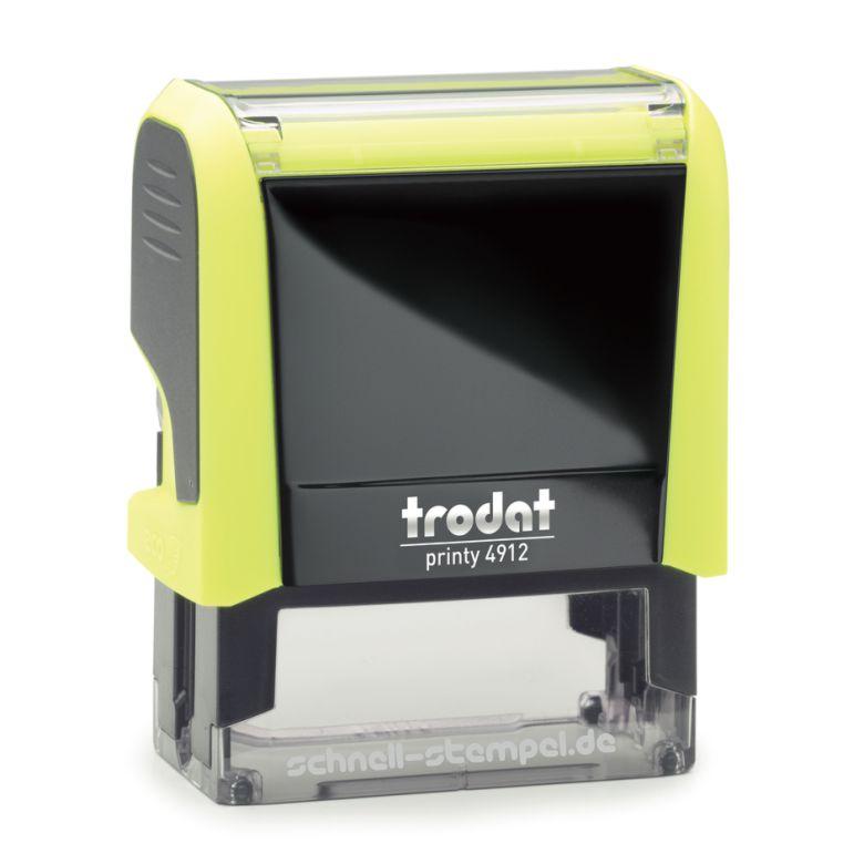Trodat Printy 4912 Neongelb Achtung neue Bankverbindung