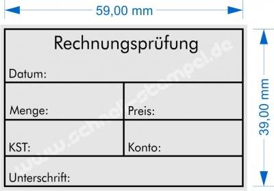 4927 Trodat Printy Rechnungsprüfung