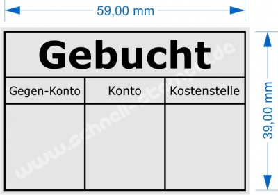 4927 Trodat Printy Gebucht
