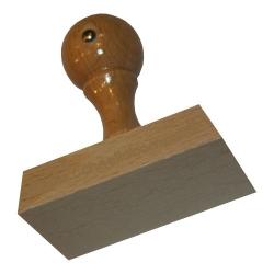 Holzstempel 55 x 80