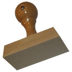 Holzstempel 60 x 100
