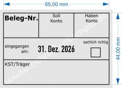 5480 Trodat Professional  Beleg-Nr. KST/Träger