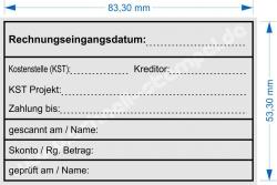5211 Trodat Stempel Professional Rechnungseingangsdatum