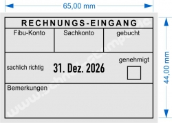 5480 Trodat Professional  Rechnungseingang genehmigt
