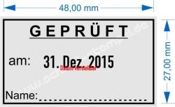5440 Trodat Geprüft Name