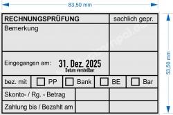 54110 Trodat Professional Rechnungsprüfung Bankeinzug