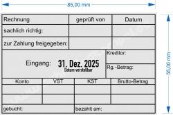 54110 Trodat Rechnung Zahlung geprüft