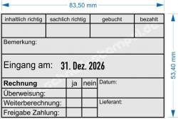 54110 Trodat Professional Rechnungsstempel Lieferant