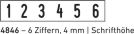 4846 Trodat Printy Ziffernstempel
