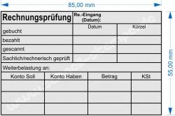 5211 Trodat Stempel Professional Rechnungsprüfung Kostenstelle Datum