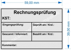 4927 Trodat Printy Rechnungsprüfung Kostenstelle