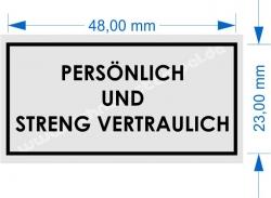 4929 Trodat Printy Persoenlich und Streng Vertraulich