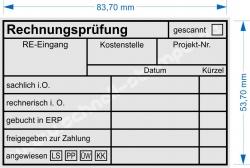 5211 Trodat Rechnungsprüfung angewiesen Bankart 3