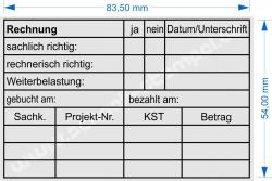 5211 Trodat Professional Rechnung Weiterbelastung 2