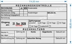 54120 L Trodat Professional Rechnungskontrolle Buchhaltung Zahlungsziel