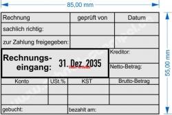 54110 Trodat Rechnungseingang Zahlung geprüft