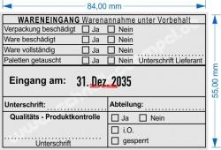 54110 Trodat Wareneingangsstempel Lieferant