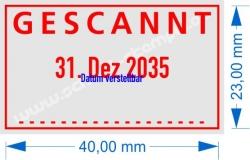 5430 Trodat Professional  Gescannt