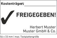 5206 Trodat Professional Textstempel Abdruckgröße max. 56 x 33 mm