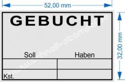 5206 Trodat Professional Gebucht Soll Haben Kostenstelle