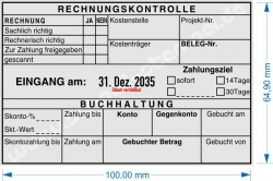 54120 Trodat Professional Rechnungskontrolle Buchhaltung sachlich- und rechnerisch richtig