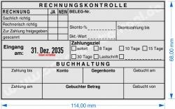 54120 L Trodat Professional Rechnungskontrolle Zahlungsziel