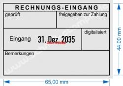 5480 Trodat Buchungsstempel Rechnung geprüft freigegeben zur Zahlung