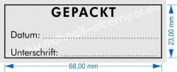 Stempel Gepackt Trodat Printy 4915