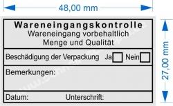 5203 Trodat Professional Wareneingangskontrolle