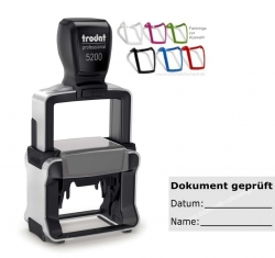 5200 Trodat Professional Dokument geprüft