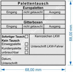 5212 Trodat Professional Palettentausch Europalette Gitterbox