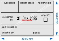 5474 Trodat Professional Buchungsstempel-Sollkonto-Habenkonto-Kostenstelle-geprüft-gezahlt am-Bank