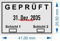 5440 Trodat Professional  Geprüft 2 Schichten