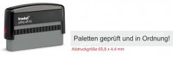 4916 Trodat Printy Paletten geprüft und in Ordnung