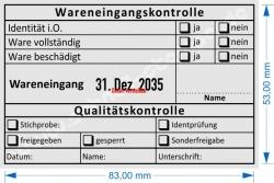 54110 Trodat Professional Wareneingangskontrolle Identprüfung