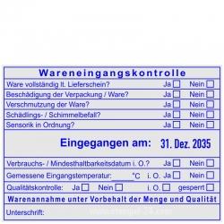 54120-R Trodat Professional Wareneingangskontrolle Qualität Eingangstemperatur