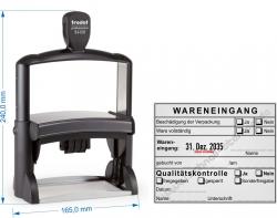 54120 Stempel Wareneingang Qualitätskontrolle freigegeben gesperrt Sonderfreigabe