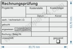 Kontierungsstempel Projektnummer Kostenträger • Trodat Professional 5211 •
