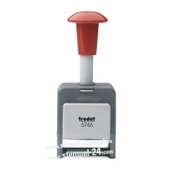4921 Trodat Dryteq mit Individueller Stempelplatte Stempelset mit UV-Härtungsgerät