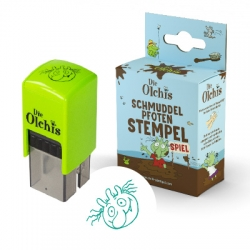 Stempel Olchis für Jungen Schmuddelpfoten Stempel und Spiel motiviert das Händewaschen