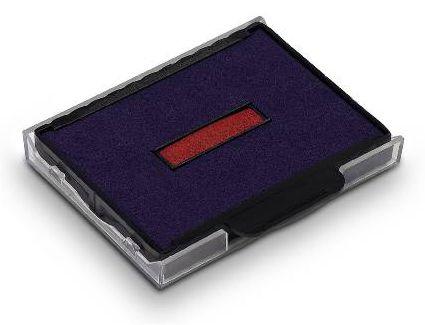 Stempelkissen 6/57/2 2-farbig Blau/Rot für Trodat Professional 5470